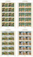 NIGER 2015 ** Bustards Trappen 4 M/S - OFFICIAL ISSUE - A1604 - Autres