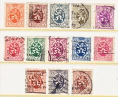 BELGIUM  198 +   (o) - 1929-1937 Heraldic Lion