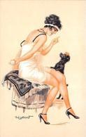 """¤¤   -  ILLUSTRATEUR """" H. LASSART """"   - Style Art Nouveau  -  Femme Aux Seins Nus - Erotique, Lingerie    -  ¤¤ - Illustrateurs & Photographes"""