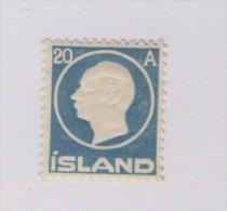 ISLANDE 1912  YVERT N°70  NEUF MH* - 1873-1918 Dependencia Danesa
