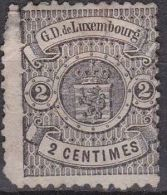 1875 Wappen Im Kreis Smallrandig 2 C Schwarz Z 13 Michel 28 (*) (Mangelhaft) - 1859-1880 Wapenschild