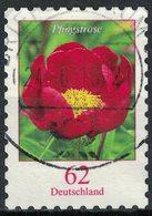 Allemagne 2014 Oblitéré Rond Used Flower Fleur Pfingstrose Pivoine - [7] République Fédérale