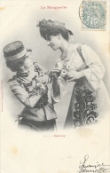 Couple De Femmes - La Marguerite - 3: Beaucoup - Phototypie A. Bergeret - Carte Précurseur - Vrouwen