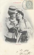 Couple De Femmes - La Marguerite - 4: Passionnément - Phototypie A. Bergeret - Carte Précurseur - Vrouwen