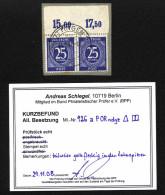 Kontrollrat,926a,OR,o,Befund (1 Wert Einwandfrei) (3571) - Gemeinschaftsausgaben