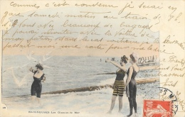 Femmes Au Bord De La Mer - Baigneuses - Les Oiseaux De Mer - Carte Précurseur Colorisée - Vrouwen