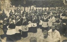 51-641  CPA  Carte Photo  EPERNAY   Incription Centre Bas Stylo  Sacre Monseigneur NEVEU   Belle Carte - Epernay
