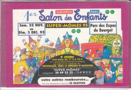 PARC DU BOURGET .- 1er Salon Des Enfants 1995 - Bolsas Y Salón Para Coleccionistas