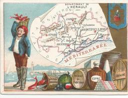 CHROMOS - DEPARTEMENT DE L'HERAULT - Trade Cards