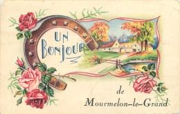 51-659 CPA  MOURMELON  LE GRAND  UN Bonjour     Belle Carte - Mourmelon Le Grand