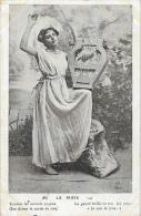 Jeune Femme Avec Lyre: La Muse - Ecoutez Les Accords Joyeux... - Edition P.S.C. Paris - Vrouwen