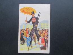 AK / Werbepostkarte 1926 Nigrin. Edel Schuhputz / Schuhcreme. Extra Nigrin. Schornsteinfeger. Künstlerkarte / Zeichnung - Werbepostkarten