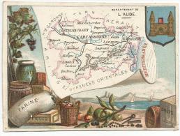 CHROMOS - DEPARTEMENT DE L'AUDE. - Trade Cards