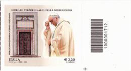 Codice 1712:  GIUBILEO DELLA MISERICORDIA Euro 2,20 ( 2016 ) Nuovo - 6. 1946-.. Repubblica