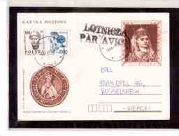 POL28   -    KETY  26.1.90      /      ENTIRE WITH INTERESTING POSTAGE - Stamped Stationery