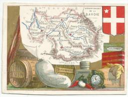 CHROMOS - DEPARTEMENT DE LA SAVOIE. - Trade Cards