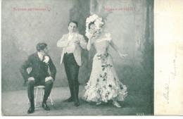 OPERA UNKNOWN ? ALTEROCCA-TERNI 1904 CIRCULATED POSTCARD - Opéra