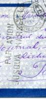 Marque De Par Avion Jusqu'à Marseille, Lettre Du Cambodge Du 1-12-1933 - Indochine (1889-1945)