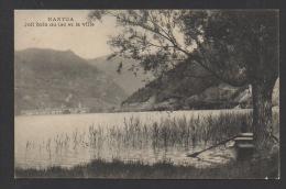 DF / 01 AIN / NANTUA / JOLI COIN DU LAC ET LA VILLE / CIRCULÉE EN 1914 - Nantua
