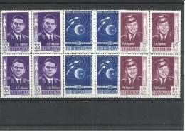 RUMANIA AEREO YVERT  157/59  (BLOQUE DE 4)  MNH  ** - Aéreo