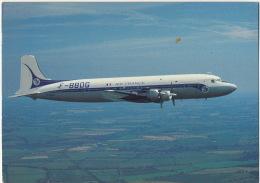 Air France Douglas DC 6A Au Dessus Du Warwickshire - 1946-....: Ere Moderne