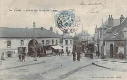 02 - Laon - Place Du Mont De Vaux (tramway) - Laon