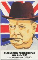 Caricature Winston Churchill Bloomsbury Postcard Fair 1995 - Satiriques