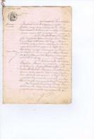 MARIAGE DU 13 JANVIER 1863 - Manuscripten