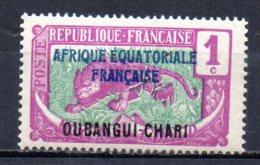 3/ Oubangui N°  43 Neuf  XX  MNH  Cote : 1,00 € - Ongebruikt