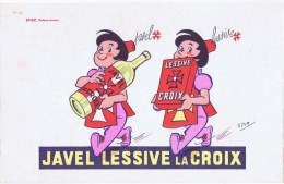 BUVARDS  JAVEL LESSIVE LACROIX - J