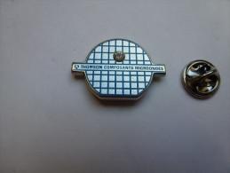 Beau Pin's , Thomson Composants Microondes , Brillant Incrusté , Informatique - Informatique