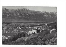 13878-  Vaduz Blick Ins Rheintal (Format 10X15) - Liechtenstein