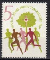 Yugoslavia,TBC 1961.,MNH - Unused Stamps