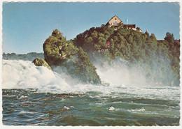 RHEINFALL AND SCHLOSS LAUFEN SWITZERLAND. UNPOSTED - BL Basle-Country