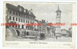 PAESE DI RE ( OSSOLA )  F/PICCOLO VIAGGIATA ANIMATA - Novara