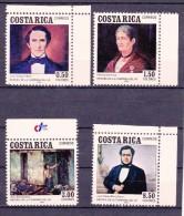 COSTA RICA - 1984- Mi.Nrs.1218...1221 Y&T Nrs. 377...380 Postfris/Neufs/No-Usados/Ungebraucht/New- ** - Costa Rica