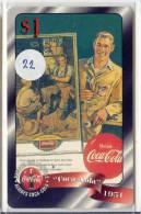 Télécarte * COCA COLA * Us $ 1.00 * Inutilisé (22) PHONECARD USA * SPRINT * Mint * TELFONKARTE * COKE * - Advertising