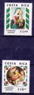 COSTA RICA - 1980- KERSTMIS -Mi.Nrs.1091 En/et 1092 - Postfris/Neufs/No-Usados/Ungebraucht/New- ** - Costa Rica