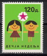 Yugoslavia,children´s Week 1989.,MNH - 1945-1992 Socialist Federal Republic Of Yugoslavia