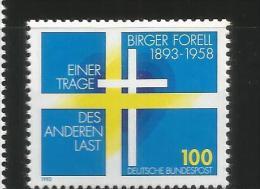ALEMANIA 1993 BIRGER FORELL RELIGION - Cristianismo
