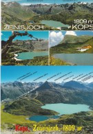 0699v: 2 Moderne AKs Zeinisjoch, Kops, Ungelaufen - Österreich