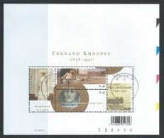 - BLOKKEN  BELGIE   GESTEMPELD  O.P.C.  NR°  107   Catw   4.00  Euro - Blocks & Sheetlets 1962-....