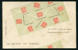 LE SECRET DU TIMBRE - Timbres (représentations)