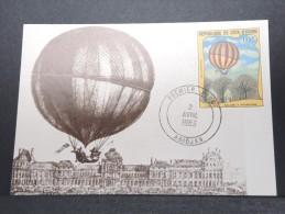 MONTGOLFIERES - Détaillons Collection De Carte Maximum - A Voir - Lot N° 10912