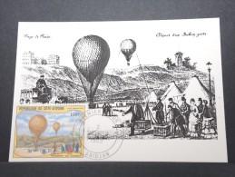 MONTGOLFIERES - Détaillons Collection De Carte Maximum - A Voir - Lot N° 10914