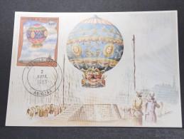 MONTGOLFIERES - Détaillons Collection De Carte Maximum - A Voir - Lot N° 10915
