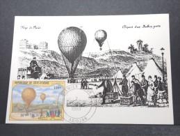 MONTGOLFIERES - Détaillons Collection De Carte Maximum - A Voir - Lot N° 10916