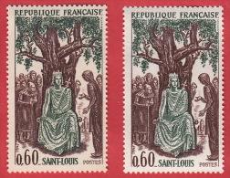 Louis IX Couronné Nr 1539 ** Avec Variété Très Intéressante: Perles Dans La Couronne - Curiosities: 1960-69 Mint/hinged
