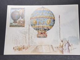 MONTGOLFIERES - Détaillons Collection De Carte Maximum - A Voir - Lot N° 10917