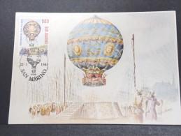 MONTGOLFIERES - Détaillons Collection De Carte Maximum - A Voir - Lot N° 10918